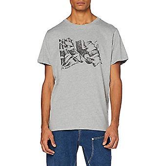 Pepe Jeans Betrand T-Shirt, Grey (Grey Marl 933), Unique (Size Manufacturer: X-SMA L L) Men