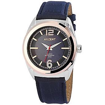 Akzent - Men's wristwatch, quartz, different materials SS7513100009