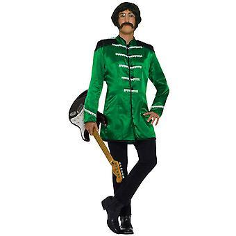 British Beatles 60s Green Jacket Men Costume STD
