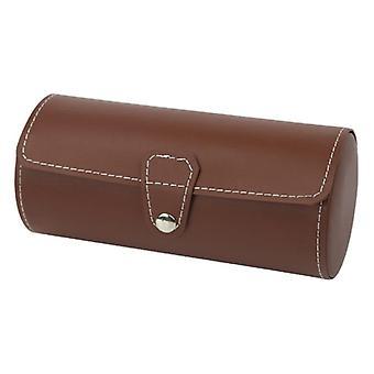 Watch Roll Travel Case Chic Portátil Vintage Leather Display