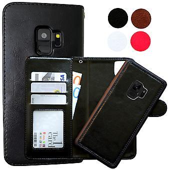 Samsung Galaxy S9-Leder Case/magnetischen Maßstab