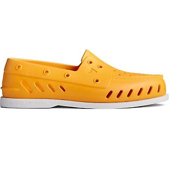 Sperry Authentic Original Float Mens Rubber Boat Shoes Yellow