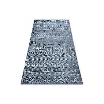 Rug Structural SIERRA G6042 Flat woven blue - geometric, ethnic