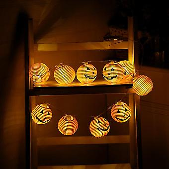 New Rope Lamp Halloween Pumpkin Lights 20 Led 2m Purple Garland Halloween Decoration ES7632