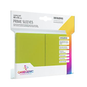 Gamegenic Prime Lime - 100 Sleeves