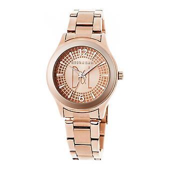 Ladies'Watch Devota & Lomba DL001W-03ROSE (36 mm) (Ø 36 mm)