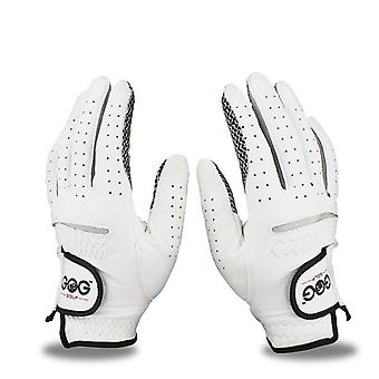 Main gauche et droite pour hommes Gants de golf en peau de mouton pure et respirante