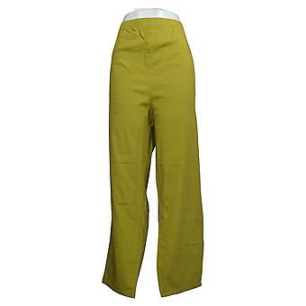 Denim &co. Dame Originale Midje Stretch Jeans m/Lommer Grønn A271388