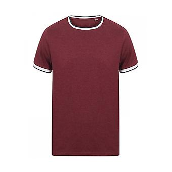 Front Row Tipped T Shirt FR131