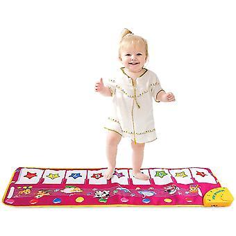 Kinder Musikalische Matten, Piano Matte, Touch Playmat Frühe Erziehung Spielzeug für Baby