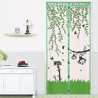 Magnetic Mesh Screen Door Fly Bug Insect Mosquito Net Curtain