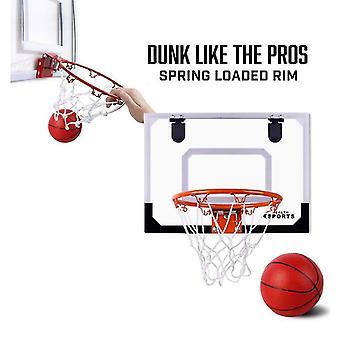Basket Barn Pro Inomhus Mini Basket Hoop Set Dörr Vägg Komplett Tillbehör