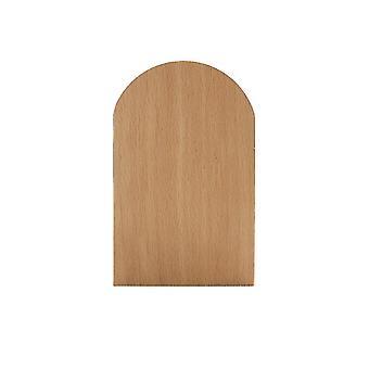 2pcs Nature Beech Wood Book Stand Anti-skid Bookends Book ends Shelf Holder Desktop Organizer