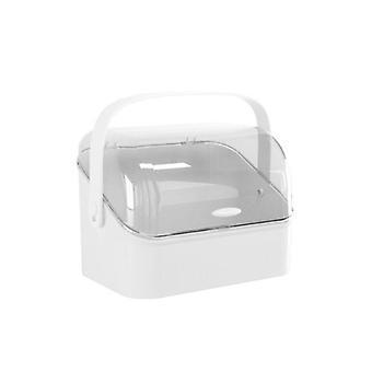 Organizador de joias de maquiagem de desktop Organizador de armazenamento de caixas de armazenamento Caixa