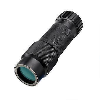 SVBONY SV301 Télescope monoculaire Compact Mini Pocket Haute Puissance pour Adultes IPX5 Imperméable à l'eau pour la chasse Randonnée Touristique Camping Opera Museum (10x25),(noir)