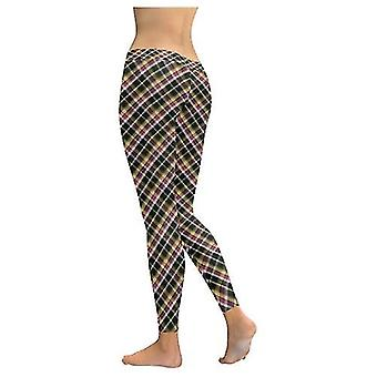 Plaid Leggings Capris Shorts