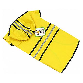 """Fashion Pet Rainy Day Dog Slicker - Yellow - Large (19""""-24"""" From Neck to Tail)"""