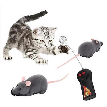 Straszny zdalnego sterowania symulacja pluszowe myszy myszy dzieci zabawki prezent dla kota psa