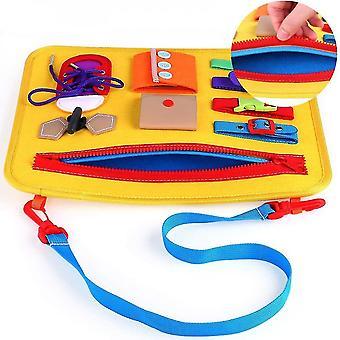Montessori Kleinkind Busy Board Spielzeug für Kinder - Bestes Spielzeuggeschenk
