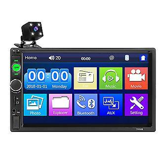 7 pouces voiture Mp5 Player Radio 2din Fm USB aux Bluetooth écran tactile