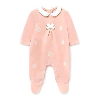 Mayoral baby girls knit bow babygrow 2665 076