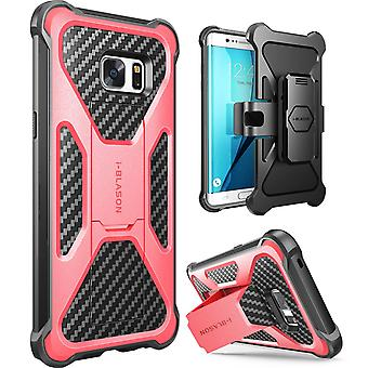 i-Blason-Galaxy Note 7 Case-Transformer Dual Layer Case-Pink