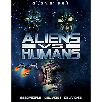 Aliens vs Humans [DVD] USA import