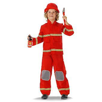 Crianças bombeiro fantasia fogo criança costume