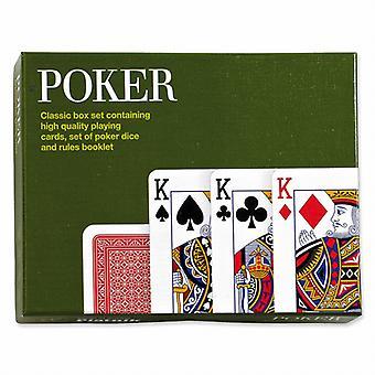 Gibsons spelen klassieke Poker