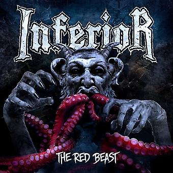 Inferior - Red Beast [CD] USA import