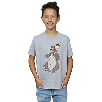 Disney chłopców dżungli rezerwacji klasyczne Mowgli i Baloo T-Shirt