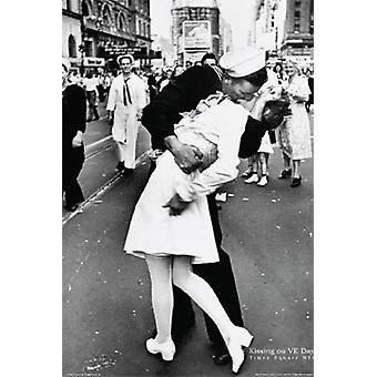 船員キス VJ 日 NYC ポスター ポスター印刷