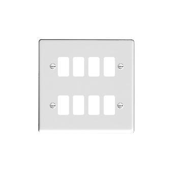 Hamilton Litestat Hartland lustre blanco 8g Apert Gridfix placa + rejilla
