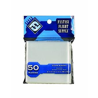 ファンタジーフライトサプライスクエアボードゲームスリーブパック50