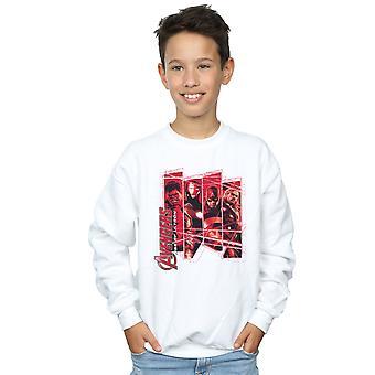 Marvel Avengers jungen Team Collage Sweatshirt