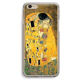 IPhone 6 6s transparante geval (Soft) - Der Kuss