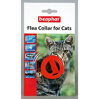 Kat van Beaphar vlooienband, Plastic kraag rood - Valentina Valentti UK