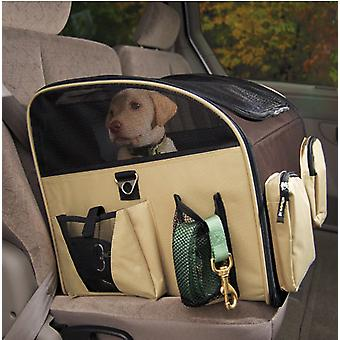 VALENTINA VALENTTI LUXURY DOG CAT PUPPY PET CAR SEAT CARRIER L SIZE BLACK