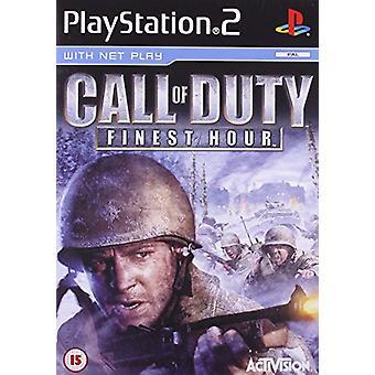 Call of Duty Finest Hour (PS2) - Nieuwe fabriek verzegeld