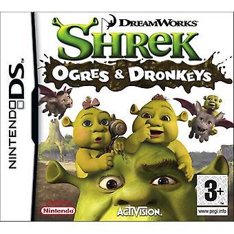 Shrek Ogres et Dronkeys (Nintendo DS) - Nouveau