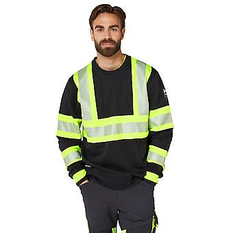 Helly Hansen Mens ICU Hallo zichtbaarheid werkkleding veiligheid trui Jumper