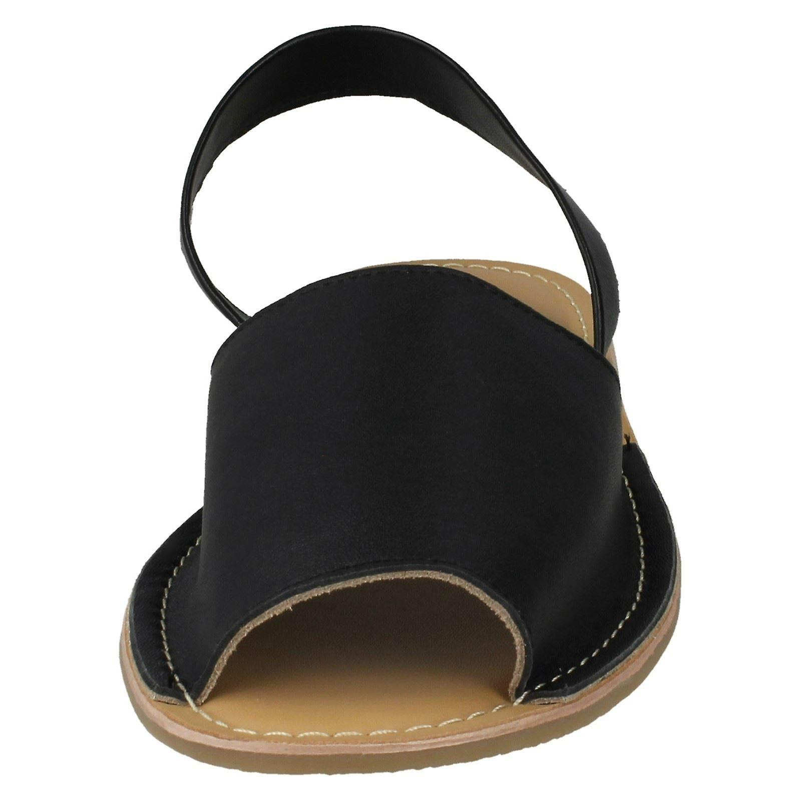 Ladies Leather Collection Mules