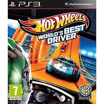 Hot Wheels verdener bedste driver (PS3)-ny