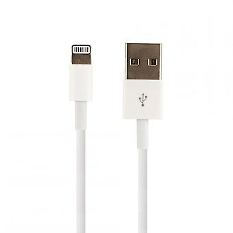 2x Apple bulk MD818ZM/A, bliksem opladen kabel, iPhone X 8 7 6 6 + iPad iPod