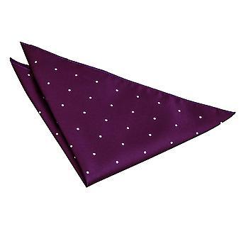 Mouchoir de poche Dot Purple Pin