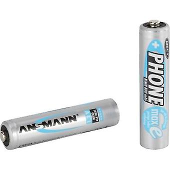 Ansmann DECT maxE HR03 AAA battery (rechargeable) NiMH 800 mAh 1.2 V 2 pc(s)
