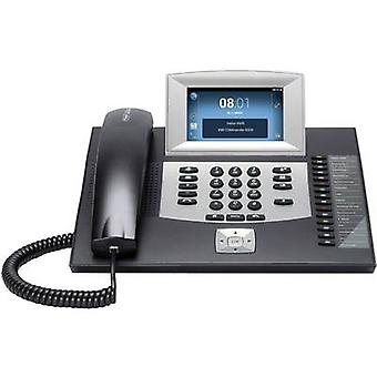 Auerswald COMFORTEL 2600 IP schwarz PBX VoIP Android, Answerphone, Hands-free, Visual call notification, Touchpanel Colour TFT/LCD Black