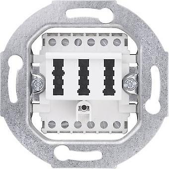 Sygonix Insert TAE socket SX.11 Sygonix white, (glossy) 33599X