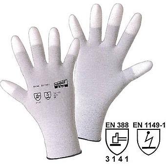 L+D worky ESD TIP 1170 Nylon Protective glove Size (gloves): 11, XXL EN 388 , EN 1149-1 CAT II 1 Pair