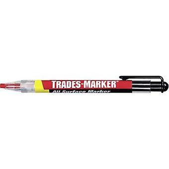 Markal Trade Marker 96132 96132 Permanent marker Red 3.8 mm 1 pcs/pack